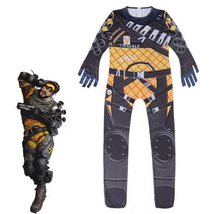 Game Apex legends Mirage Cosplay Jumpsuit For Kids