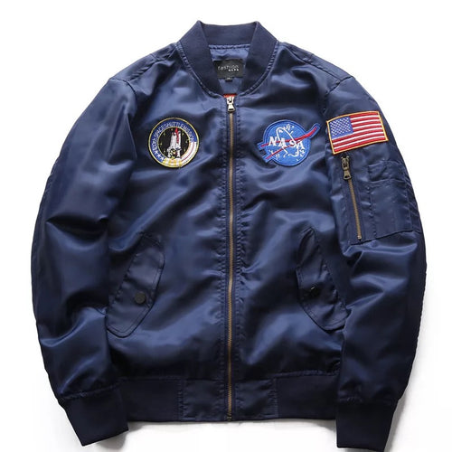 NASA Space Baseball Jacket Coat