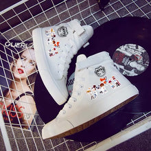 Load image into Gallery viewer, Kpop BTS High Tops Casual Canvas Shoes Unisex Sneakers