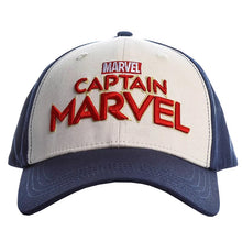 Load image into Gallery viewer, Avengers Endgame Captain Marvel Carol Danvers Shield Baseball Caps Hat
