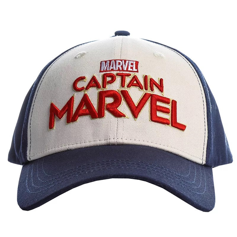 Avengers Endgame Captain Marvel Carol Danvers Shield Baseball Caps Hat