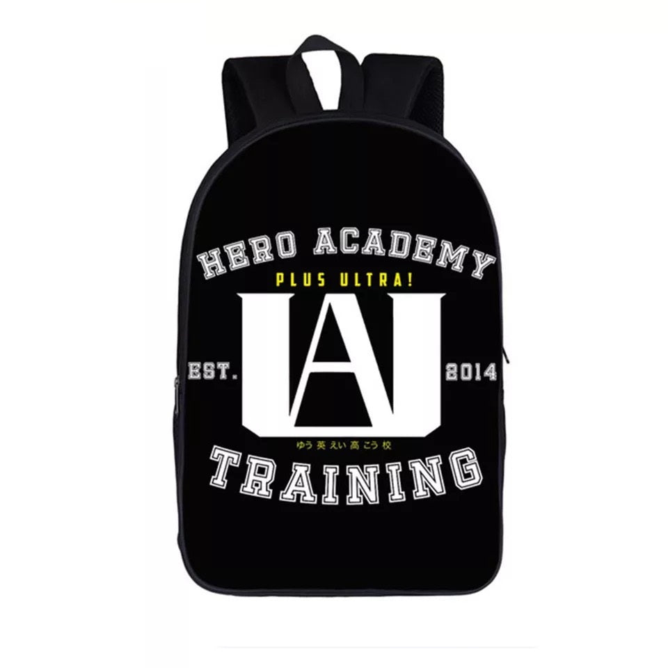 My Hero Academia Cosplay Backpack School Sports Bag