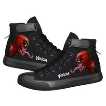 Load image into Gallery viewer, Venom Superhero Deadpool High Top Sneaker Cosplay Shoes For Kids