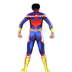 My Hero Academia Boku no Hero Academia All Might Bodysuit Cosplay Costume Jumpsuit