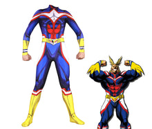 Load image into Gallery viewer, My Hero Academia Boku no Hero Academia All Might Bodysuit Cosplay Costume Jumpsuit