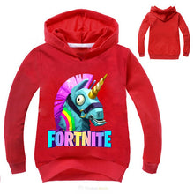Load image into Gallery viewer, Fortnite Unicorn Hoodies Sweatshirt For Kids