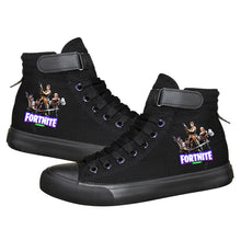 Load image into Gallery viewer, Game Fortnite Battle Royale High Top Sneaker Cosplay Shoes For Kids