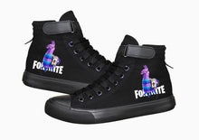 Load image into Gallery viewer, Game Fortnite Llama Pink Horse High Top Sneaker Cosplay Shoes