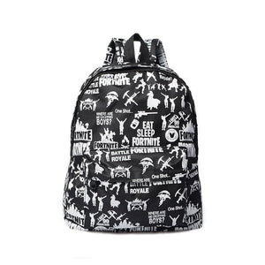 Eat Sleep Fortnite School Bags For Kids Backpack