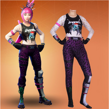 Load image into Gallery viewer, Fortnite Power Chord Jumpsuit Halloween Cosplay Costume