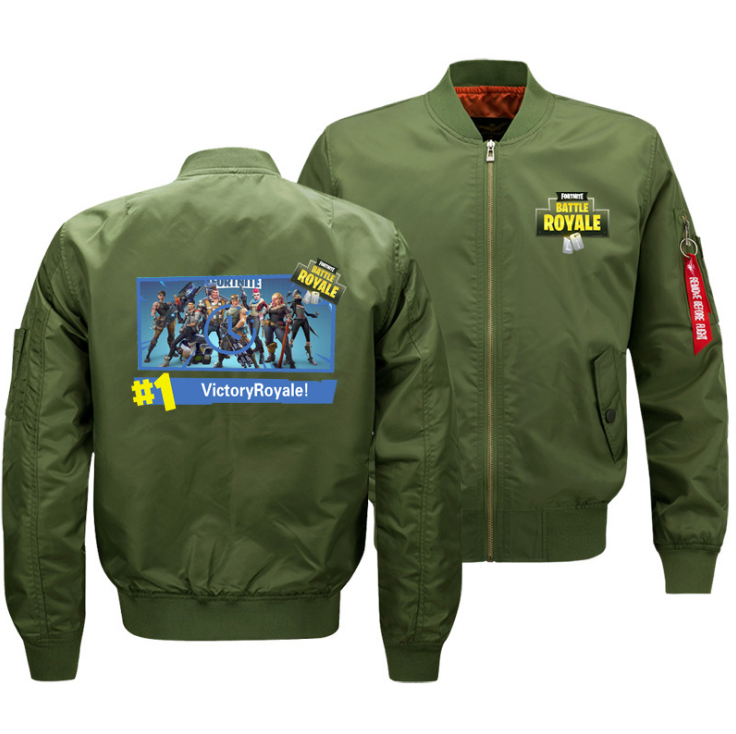 Fortnite Battle Royale Baseball Jacket Coat