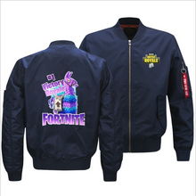 Load image into Gallery viewer, Fortnite Victory Royale Llama Baseball Jacket Coat