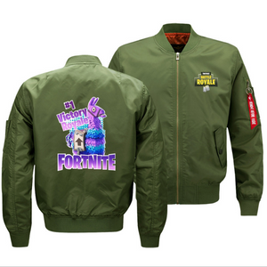 Fortnite Victory Royale Llama Baseball Jacket Coat