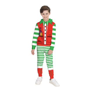 Christmas Santa Claus Sweater For Kids