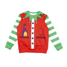 Load image into Gallery viewer, Christmas Santa Claus Sweater For Kids