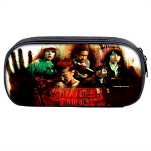 Stranger Things Pencil Bags Students Stationery Supply Pen Pencil Case Bag