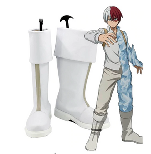 My Hero Academia Boku no Hero Academia Shoto Todoroki Cosplay Boots Shoes Cosplay