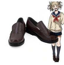 Load image into Gallery viewer, My Hero Academia Himiko Toga Cosplay Boots Shoes Halloween
