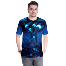 Load image into Gallery viewer, Pokemon Umbreon Cosplay Costume Short Sleeve Tee Shirt