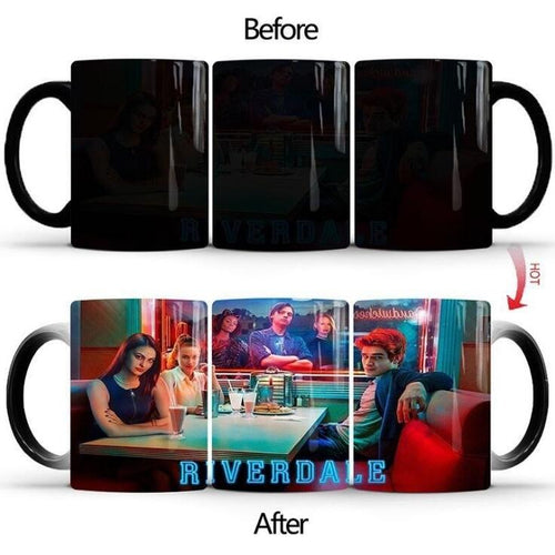 Riverdale South Side Serpents #1 Coffee Tea Cup Changing Color Mug Christmas Gift