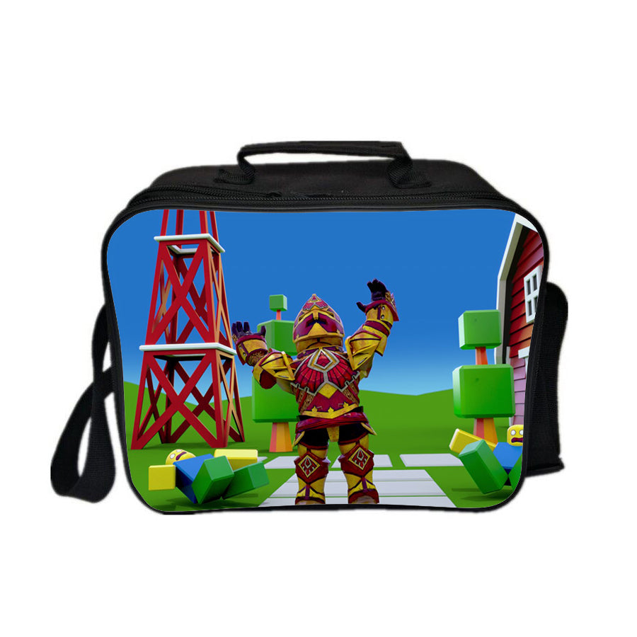 Roblox Lunch Box August Series Lunch Bag Superman Crowd