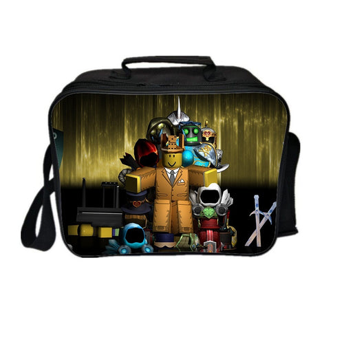 Roblox Lunch Box New Series Lunch Bag Dark Light