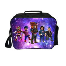 Load image into Gallery viewer, Roblox Lunch Box Universe Series Lunch Bag Purple Starry Sky
