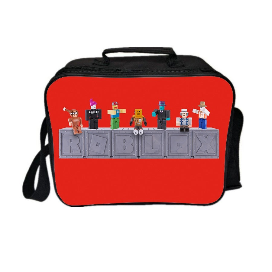 Roblox Theme Joy Series Lunch Box Lunch Bag Red Doll Team Amcoser