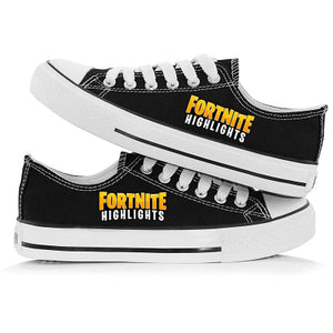 Game Fortnite Sneakers Cosplay Shoes For Kids