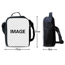 Load image into Gallery viewer, Game Roblox Insulated Lunch Bag for Boy Kids Lunch Box Tote Explore Amazing Worlds