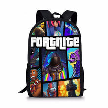 Load image into Gallery viewer, Fortnite Backpack Bag Fortnite School Sports Battle Royale Game