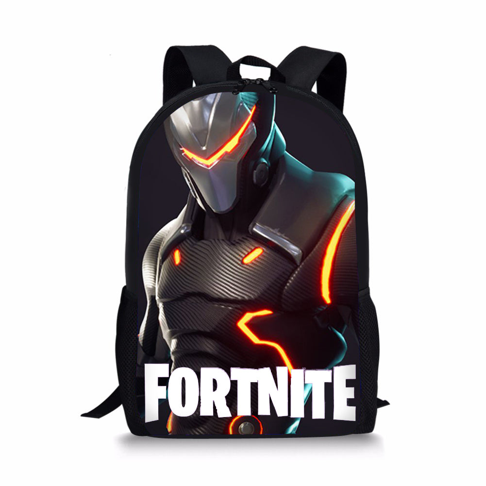 Fortnite Backpack Bag Fortnite School Sports Battle Royale Game Omega Skin