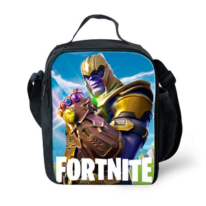 Game Fortnite Thanos Infinity Gauntlet Glove Lunchbox Bag Lunch Box