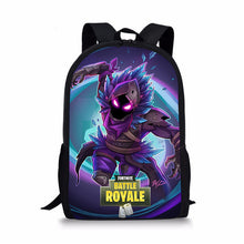 Load image into Gallery viewer, Fortnite Backpack Bag Fortnite School Sports Battle Royale Game Raven Skin