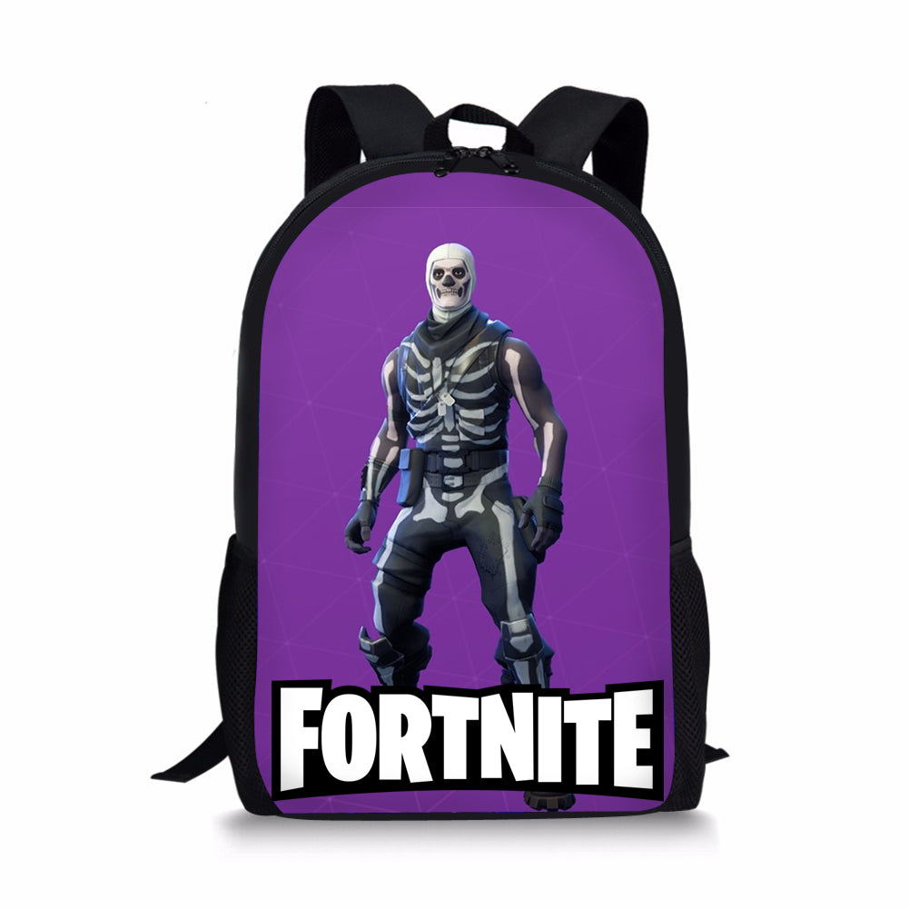 Fortnite Backpack Bag Fortnite School Sports Battle Royale Game Skull Trooper Skin