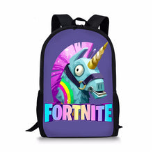 Load image into Gallery viewer, Fortnite Backpack Bag Fortnite School Sports Battle Royale Game Unicorn
