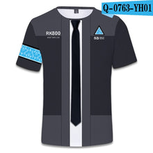Load image into Gallery viewer, 2018 Hot Detroit Become Human T-Shirt Unisex Summer Short Sleeve