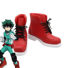 Load image into Gallery viewer, My Hero Academia  Cosplay Shoes Izuku Midoriya Cosplay Boots Battle Cos Men Shoes
