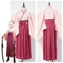 Load image into Gallery viewer, Fate Grand Order Sakura Saber Kimono For Girls Halloween Cosplay Costume