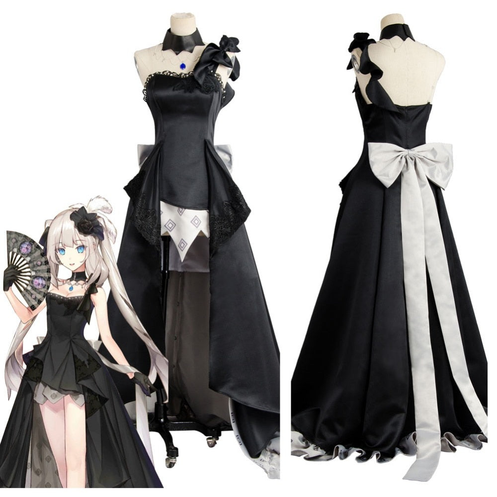 Fate Grand Order FGO Fate Grand Order Rider Marie Antoinette Cosplay Costume Dress Gown