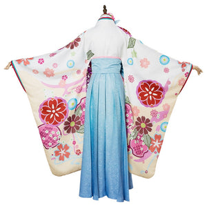 Fate Grand Order  Matthew Kyrielite Cosplay Costume New Year Kimono Dress