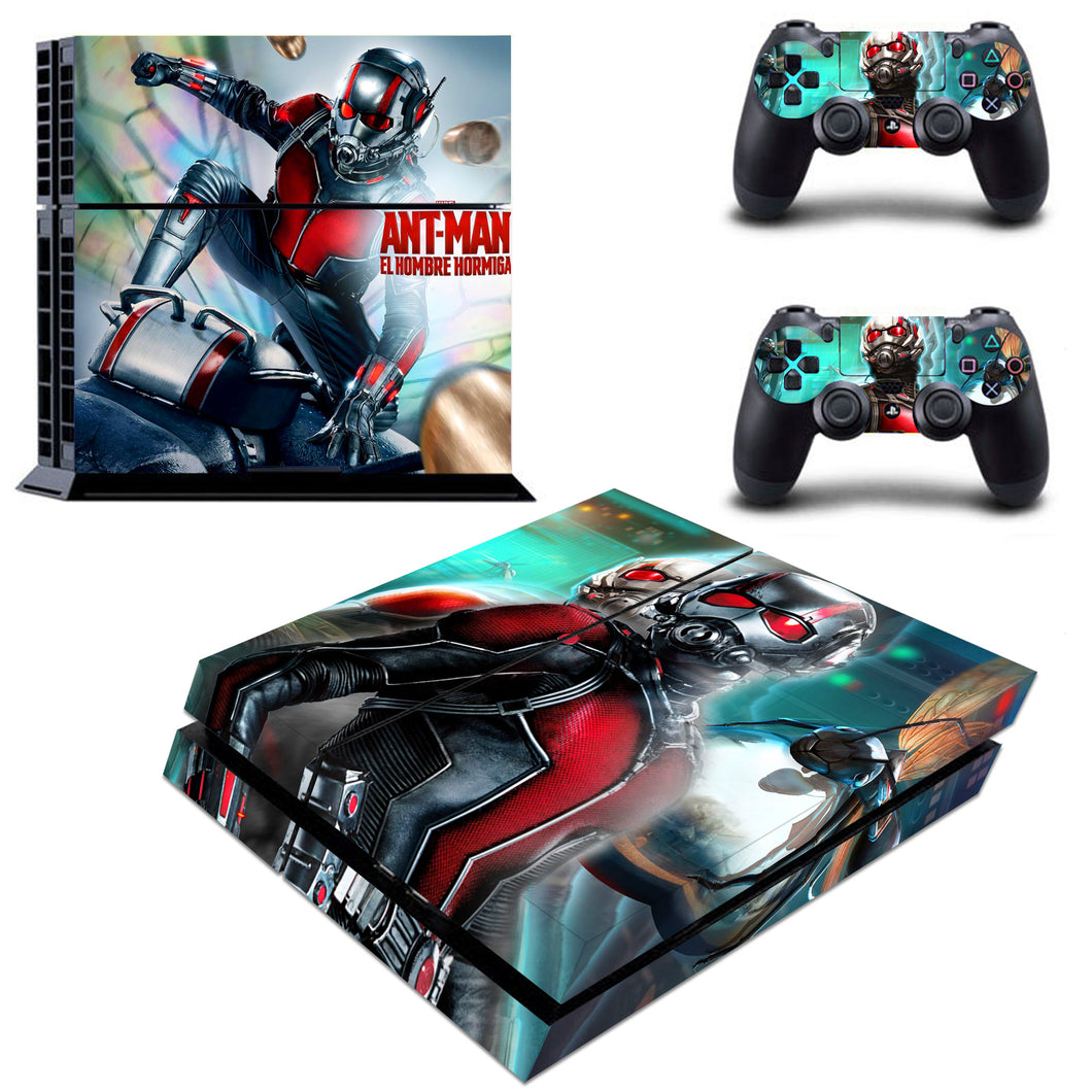 Ant Man Avengers Infinity War VInyl Skin for PS4 Console Decal Sticker Cover Set