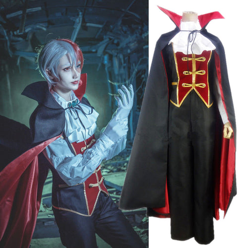 My Hero Academia Todoroki Shoto Halloween Vampire Uniform Outfit Cosplay Costume