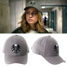 Load image into Gallery viewer, New Captain Marvel Carol Danvers Shield Baseball Caps Adjustable Hip Hop Sun Hat
