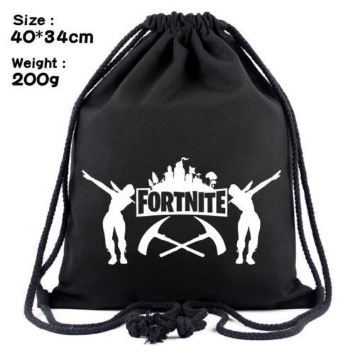 Fortnite Battle Royale Drawstring Bag School Bag