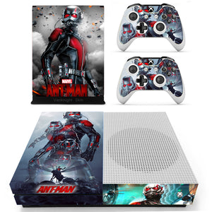Xbox One S Slim Console Skin Ant Man Avengers Marvel Vinyl Decal Sticker Covers