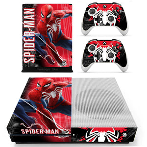 Video Game Accessories Regular Ps4 Console Controllers Skin Spider Man Marvel Comic Cosplay Vinyl Decal