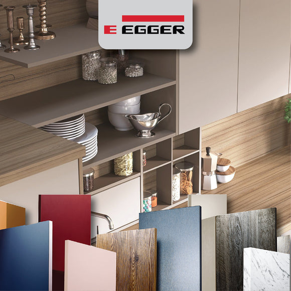 EGGER Wood Products offers premium decors, TFL and laminate products for architects, designers, fabricators, furniture makers and more