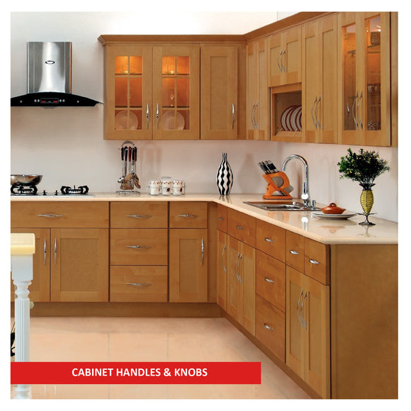 CABINET HANDLES & KNOBS