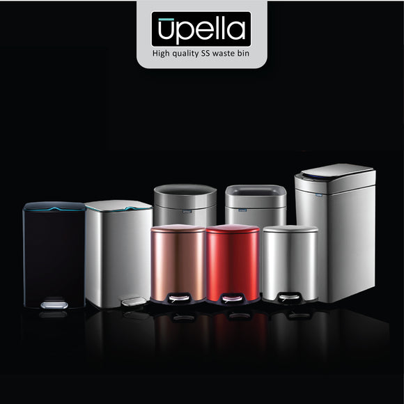 Upella High-quality Stainless Steel Waste bins